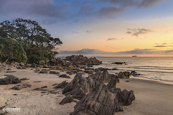 Sunrise in Mt. Maunganui