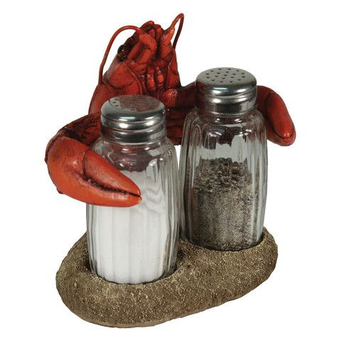 Crawfish Salt Amp Pepper Shakers Set Baubles N Bling