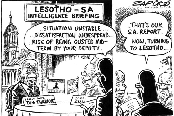 Zapiro: Lesotho intelligence briefing - Mail & Guardian