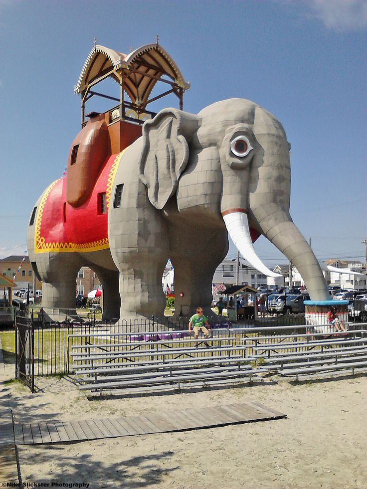 Lucy the Elephant in Margate City, NJ.