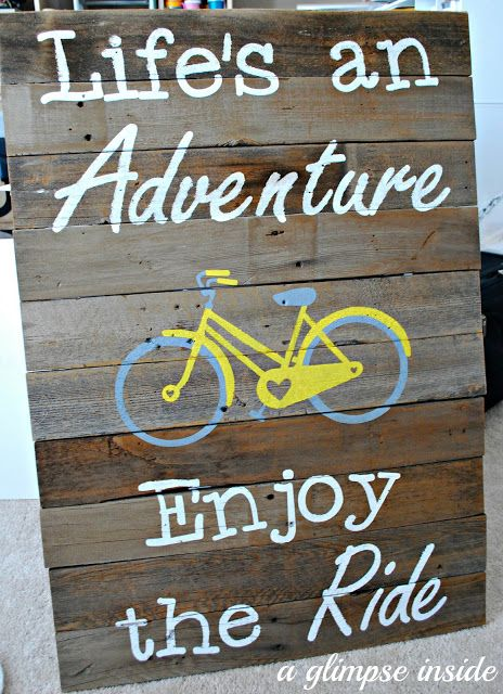Life's an Adventure.  Enjoy the Ride.