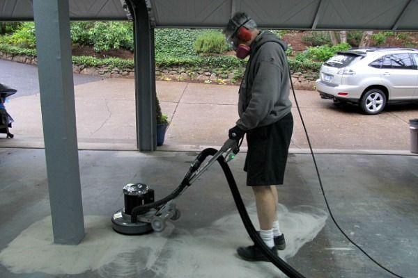Grinding a garage floor for an epoxy coating wasn't easy until now. Learn the new method that is both faster and less expensive with this new grinding tool.