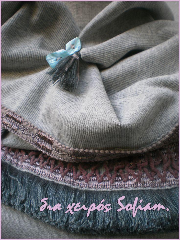 """14N6_scarf """"Pink Panther"""""""
