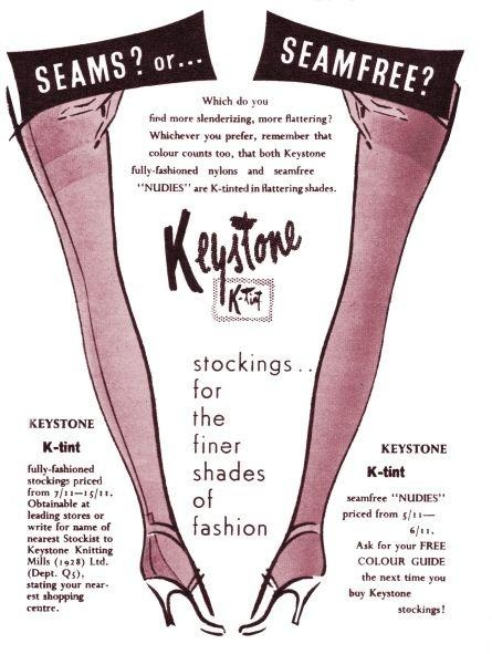 1950s Stockings Advert