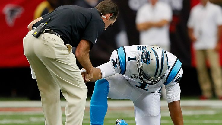 Sweet video ... of Panthers' failure to protect Cam Newton from himself
