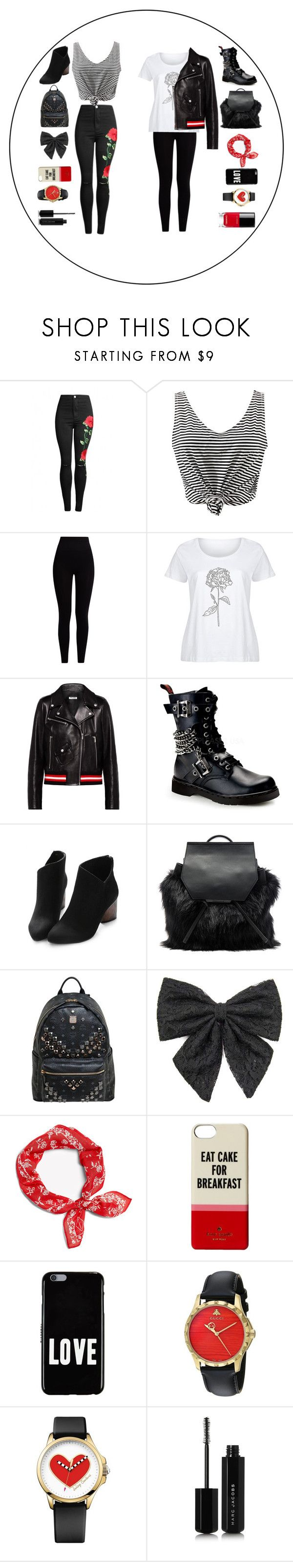 """Nothin' But Love Tour"" by mikeilasilva ❤ liked on Polyvore featuring WithChic, Pepper & Mayne, LC Trendz, Miu Miu, Demonia, Kendall + Kylie, MCM, Carole, rag & bone and Kate Spade"