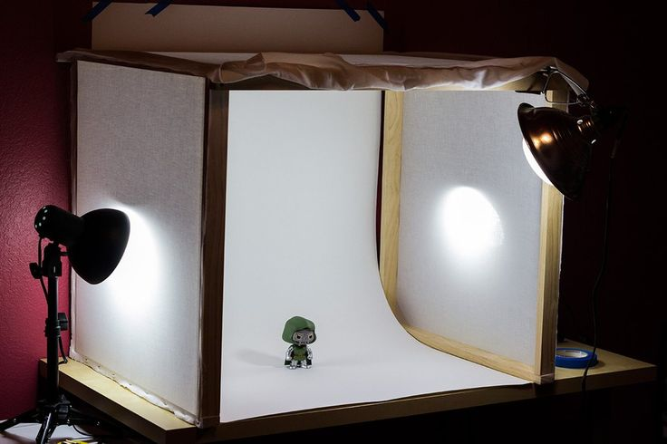 how to use photo studio box
