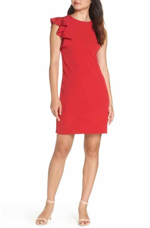 8fa0887003c Julia Jordan Sleeveless One-Ruffle Dress Reviews in 2019   Women ...