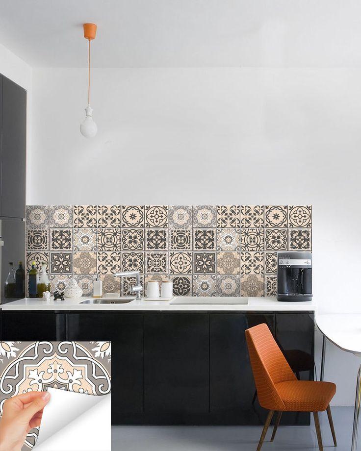 36 best kitchen decals images on pinterest kitchen for Stickers miroir ikea
