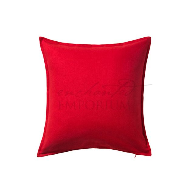 Ruby Red Cushion Hire, Enchanted Emporium