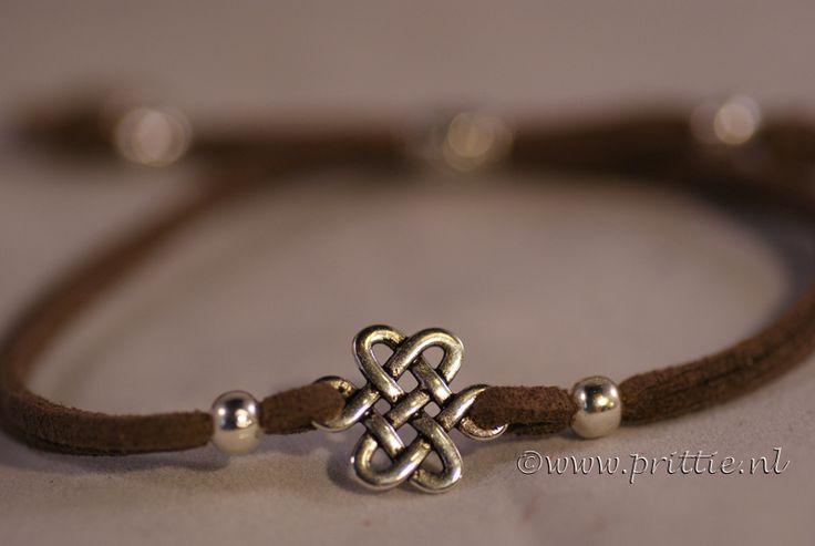 Keltische knoop armband