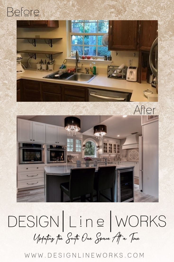Before And After Kitchen Remodel Residential Interior Design Custom Kitchens Design Interior Design Services