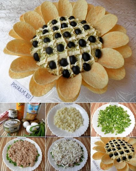 This Pringles Sunflower Salad is Perfect for a Party - http://www.stylishboard.com/this-pringles-sunflower-salad-is-perfect-for-a-party/