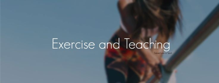 Exercise and teaching  Saved you a Spot – Primary education blog for teachers, parents and pupils