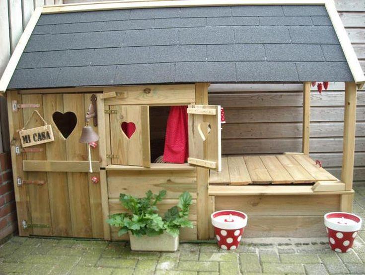 Bekijk de foto van Tassie72 met als titel wie wil er nou niet zo'n speelhuisje? en andere inspirerende plaatjes op Welke.nl.