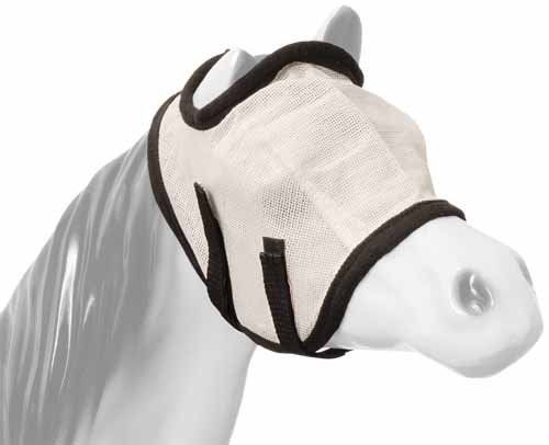 Tough-1 Miniature Fly Mask . $10.99. 3 Mini Sizes! Keeps pests off your horse's face and eyes. Mesh fly bonnet. 2 elastic straps with quick-grip closures. Adjustable to fit most miniature horses. Size: Small, Medium, or Large.