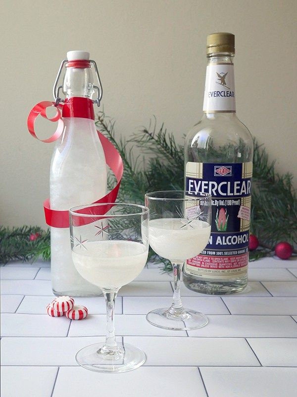 Make It Homemade Shimmery Peppermint Liqueur Peppermint Vodka Peppermint Cocktail Peppermint Schnapps Recipe