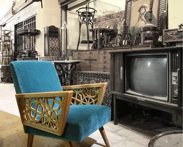 Vintage Arabic Style #retro #furniture #pattern #chair
