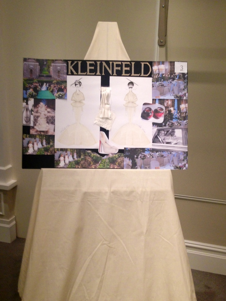 Kleinfeld: The Bride of the Millenium Moodboard