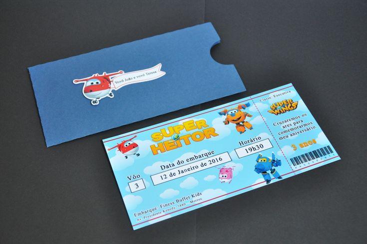 Belíssima opção de convites para sua festa! Seus convidados ficaram encantados!!    * Envelope confeccionado em papel Collor plus 180g.  * Convite e apliques em papel fotográfico.  * Pedido mínimo: 20 unidades      ---ATENÇÃO: AS CORES PODEM SOFREM VARIAÇÕES EM RELAÇÃO AO QUE VOCÊ VÊ NO MONITOR. ...