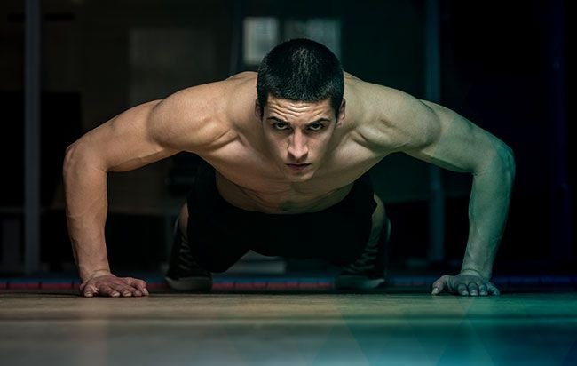 There are more ways to do pushups than just about any other exercise, which means your mind and muscles will never get bored. But if you need some inspiration for your arsenal, check out these two up-and-down pushup workouts from Men's Health Fitness Dire