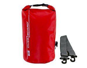 OverBoard wasserdichter Packsack 5 Lit Schwarz: Dieses kleine, leichte Dry-Bag ist die ideale Lösung zum Verstauen von empfindlichen…