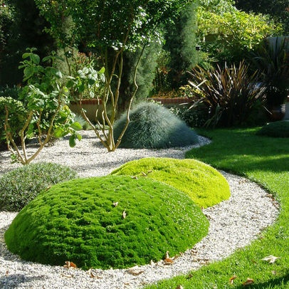 105 best images about berm landscaping on pinterest - House Designs With Garden