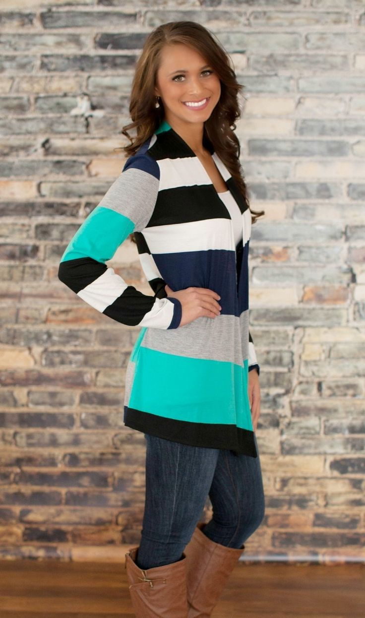 The Pink Lily Boutique - Sweet She Rocks Teal Cardigan, $38.00 (http://thepinklilyboutique.com/sweet-she-rocks-teal-cardigan/)
