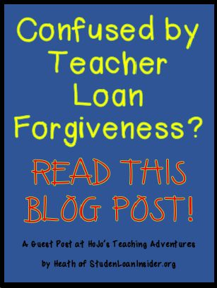 If student loan forgiveness confuses you, check out this blog post!