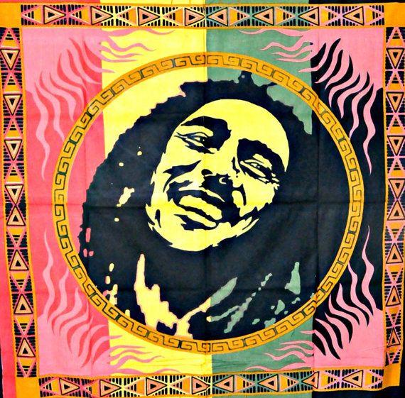 Bob Marley Tapestry wall hanging Bob Marely wall by JaipurHandloom, $18.99