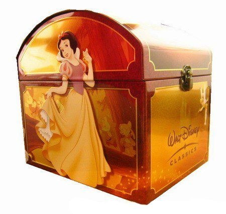 A box set of every Disney movie (132 discs). UM WHAT IS THIS DREAM?!?!?! $225