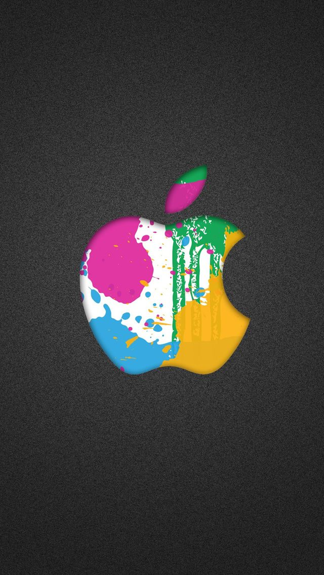 colorful apple logos. Colorful Splash Apple Logo Logos