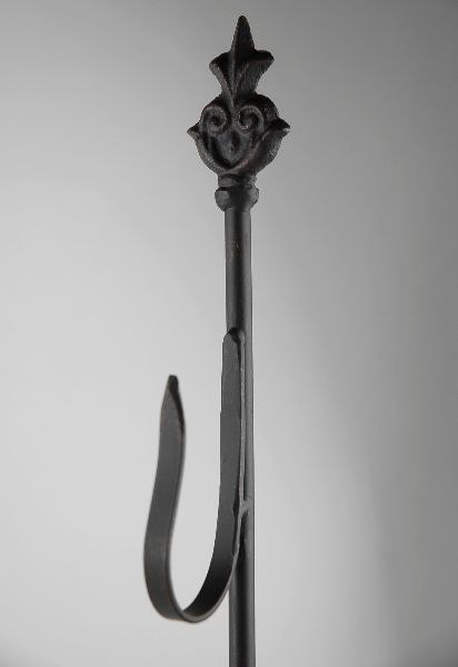 """24"""" Black Cast Iron Stand with hook. $11 each    / 6 for  $9.99 each"""