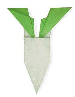 Origami Oriental Radish
