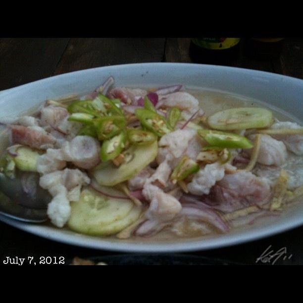 これは旨い #kilawin #tanigue #food #philippines #フィリピン
