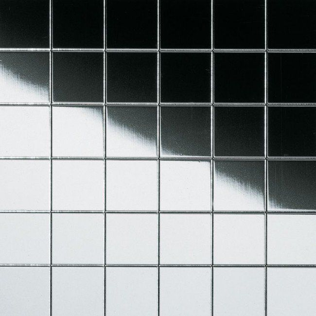 5 426 + 500 доставка Панель стеновая Sibu Multistyle Silver Classic мозаичная с клеем 10x10