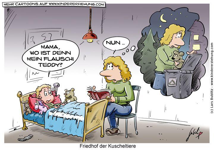 Friedhof der Kuscheltiere? #friedhofderkuscheltiere #teddy #stofftier #kaputt #cartoon #comic Weitere Cartoons auf: http://www.kindererziehung.com/cartoon.php