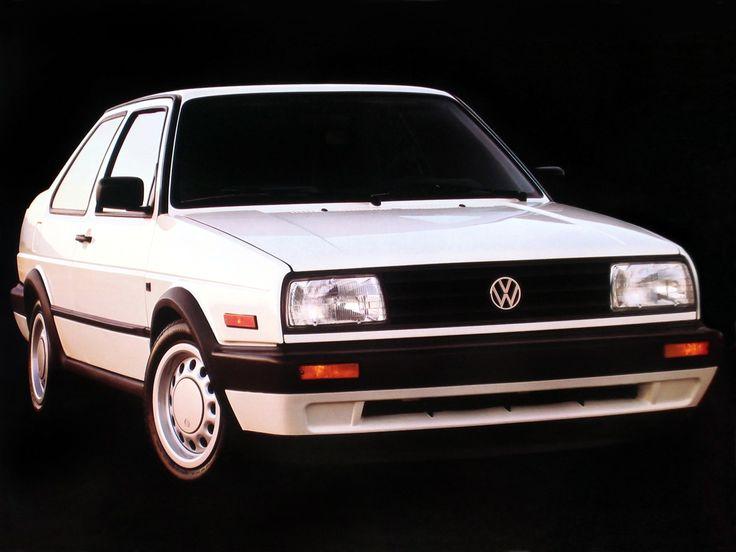 Volkswagen Jetta 2-door US-spec (Typ 1G) '1989–92