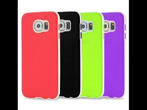 Capa para Celular Samsung Galaxy S6 Translucida colorida na EagleTechz capas para celular