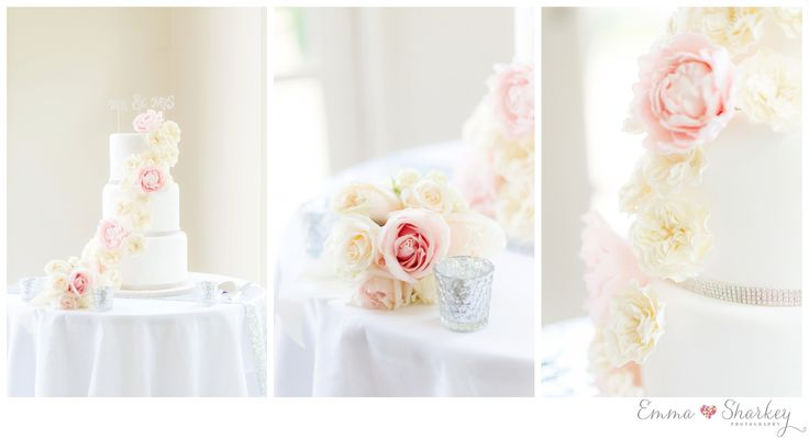 Silvestri's of Clarendon Wedding Bridal Inspiration Wedding Inspiration Classic White Wedding Wedding Flowers Wedding Gown Wedding Photography Wedding Ideas Emma Sharkey Photography White Wedding Cake