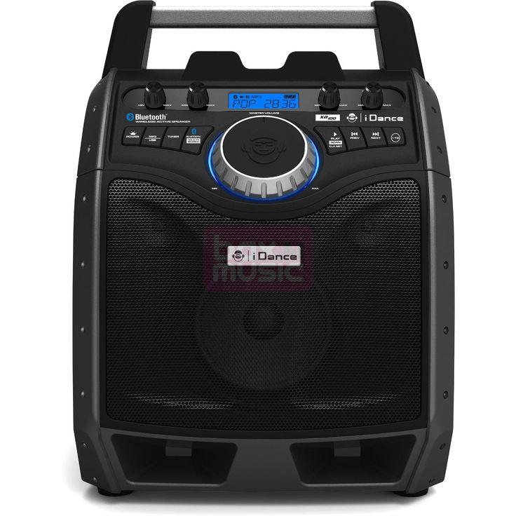 iDance heeft de ideale Bluetooth speaker voor zomerse feestjes gemaakt. De XD100 MKII is niet alleen compact en draagbaar, deze zwarte luidspreker werkt draadloos, via USB of AUX. Ook kunt u er mics en gitaar op aansluiten.