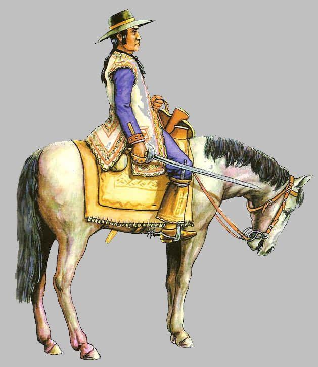Dragones de Cuera 1790 San Francisco