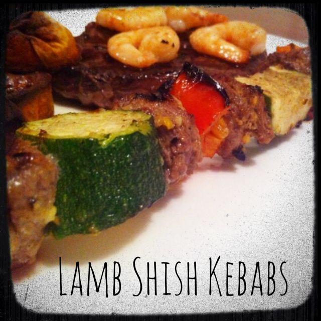 Super Quick Thermomix Marinade for BBQ Lamb Shish Kebab - The 4 Blades