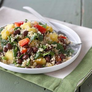 Caribbean Couscous Salad [[SO GOOD AND REFRESHING]]