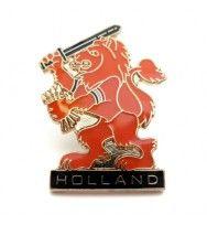 Holland Souvenirs - PIN / BROCHE WAPEN LEEUW HOLLAND