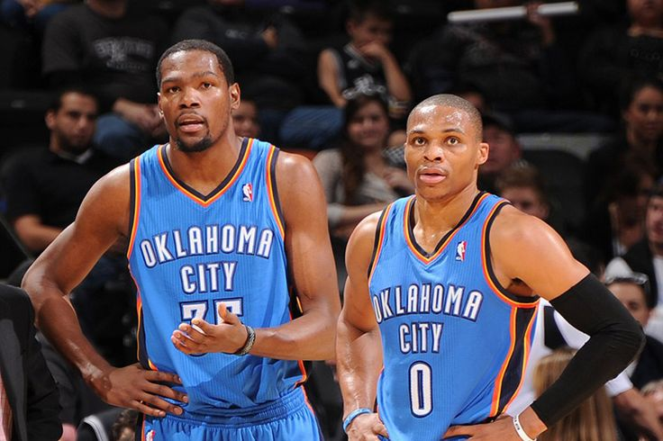 Kevin Durant and Russell Westbrook Return to Practice