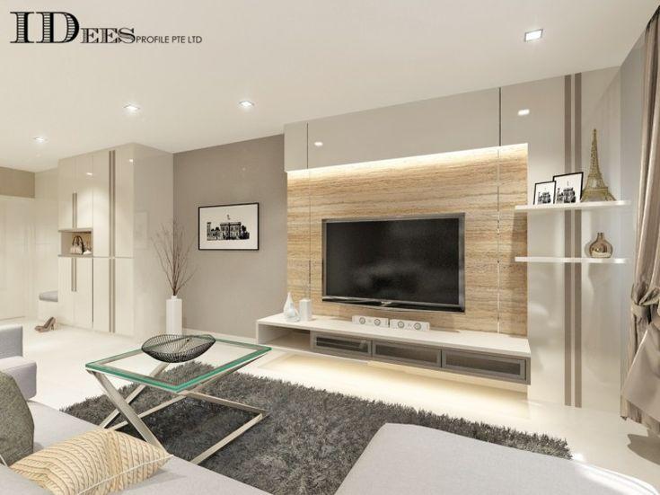 Singapore Interior Design Gallery Design Details Homerenoguru Living Room Wall Designs Tv Console Design Living Room Decor Modern