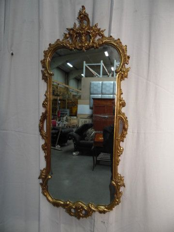 mirror louis xv bronze - Mirrors - Decoratives - Nord Antique