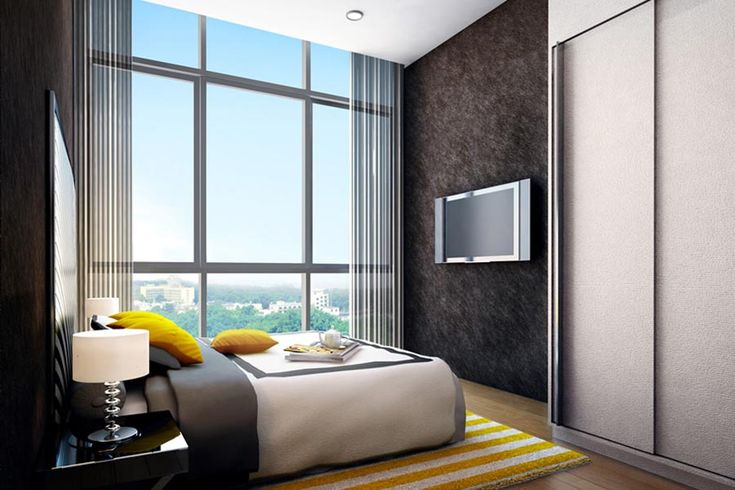 63+ Modern Master Bedroom Ideas (Pictures, Designs, Paint Colors Inspiration) - Modern Master Bedroom with Space With View