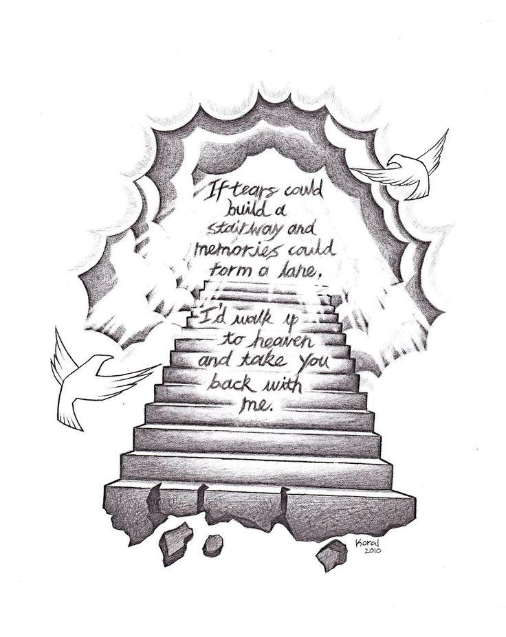 popular drawing designs | stairway to heaven by heteroclite360 designs interfaces tattoo design ...